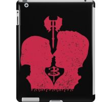 When you kiss me, I wanna die... iPad Case/Skin