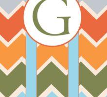 G Chevron Sticker