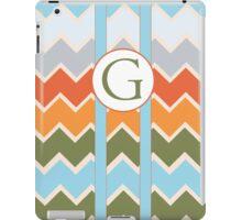 G Chevron iPad Case/Skin