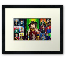 The Doctor of the Universe - The Icon Framed Print
