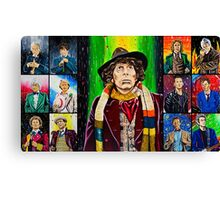 The Doctor of the Universe - The Icon Canvas Print