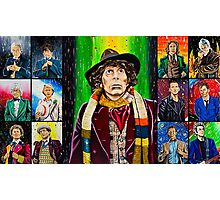 The Doctor of the Universe - The Icon Photographic Print