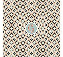 G Simple Photographic Print