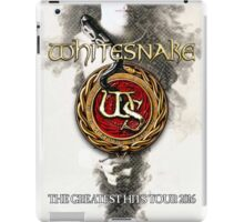 Whitesnake The Greatest Hits Tour 2016 iPad Case/Skin