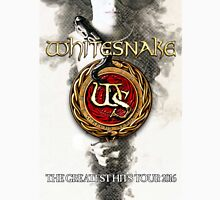 Whitesnake The Greatest Hits Tour 2016 Unisex T-Shirt