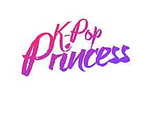 K-pop princess Photographic Print