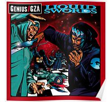 Liquid Swords Genius GZA Poster