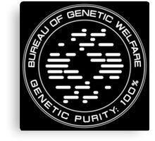 Allegiant - Bureau Of Genetic Welfare Canvas Print