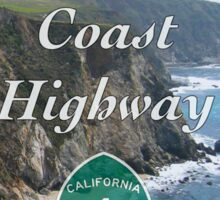 Highway 1  Sticker