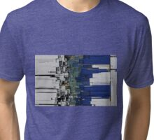 Abstract composition 303 Tri-blend T-Shirt