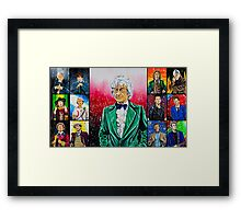 The Doctor of the Universe - The Dandy Framed Print