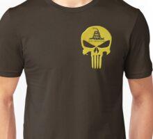 Don't Tread on Me Skull Unisex T-Shirt
