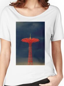 Parachute Jump, Coney Island Women's Relaxed Fit T-Shirt
