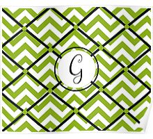 Awesome Chevron G Poster