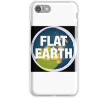 Flat earth, alternate science, iPhone Case/Skin