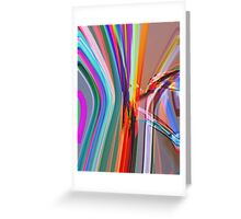 Abstract composition 309 Greeting Card