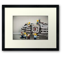 Some Small Repiars Framed Print