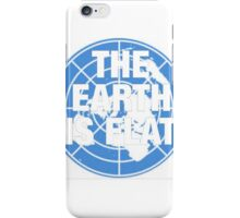 The earth is flat fact iPhone Case/Skin