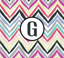 G Chevrony Sticker