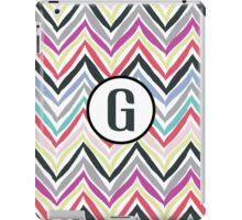 G Chevrony iPad Case/Skin