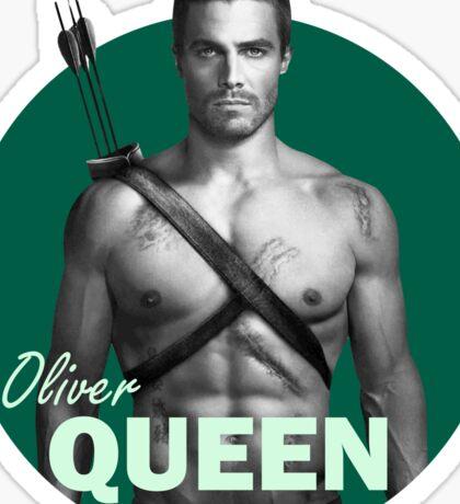 Oliver Queen - Arrow Sticker