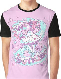 Sweet Sundae - Fairy Kei Pastel Kawaii Cute Graphic T-Shirt