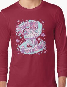 Sweet Sundae - Fairy Kei Pastel Kawaii Cute Long Sleeve T-Shirt