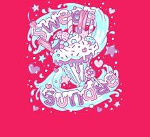 Sweet Sundae - Fairy Kei Pastel Kawaii Cute Womens Fitted T-Shirt