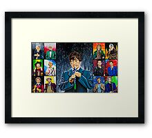 The Doctor of the Universe - The Cosmic Hobo Framed Print