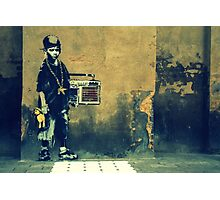 Banksy New Skool  Photographic Print
