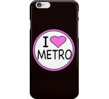 I Heart Metro  iPhone Case/Skin