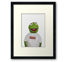 Kermit The Frog Supreme T shirt  Framed Print