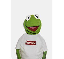 Kermit The Frog Supreme T shirt  Photographic Print