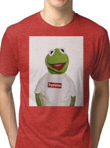 Kermit The Frog Supreme T shirt  Tri-blend T-Shirt