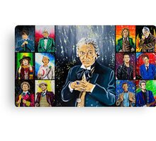 The Doctor of the Universe - The First Canvas Print