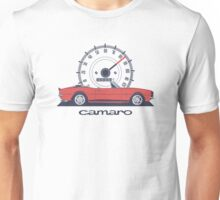 Chevrolet Camaro RS-SS 350 Convertible (red) Unisex T-Shirt