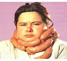 Fabu-sausage Photographic Print