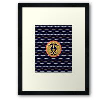 Nautical by Nature Framed Print
