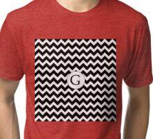 G Black Chevron Tri-blend T-Shirt