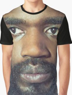 MC Ride's Face Large Graphic T-Shirt