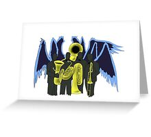 Patriot- Low Brass (Large) Greeting Card