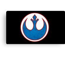 Rebel Alliance Symbol Canvas Print