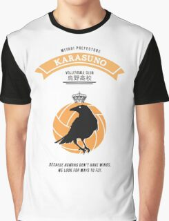 Karasuno Crest Graphic T-Shirt