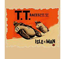 ISLE OF MAN TT RETRO Photographic Print