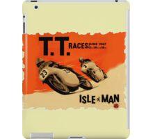ISLE OF MAN TT RETRO iPad Case/Skin