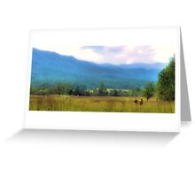 """Heaven on Earth, Almost""... prints and products Greeting Card"