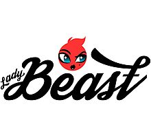 Lady Beast Character Photographic Print