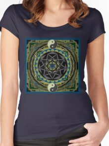 ENERGY WHEEL Women's Fitted Scoop T-Shirt