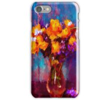 Flowers in Vase iPhone Case/Skin