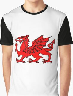 Welsh Dragon Graphic T-Shirt